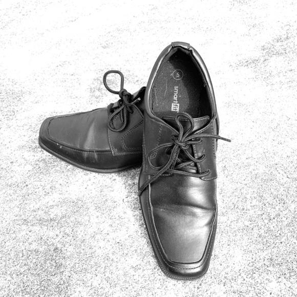 smartfit Shoes | Dress Black Big Boys